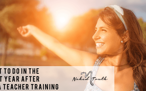 What to do your first year as yoga teacher